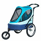 Petique All Terrain Jogger-Sailboat Pet Stroller - Sailboat - One Size