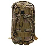 WINDGOAL Outdoor Neutral Adjustable Military Tactic Backpack Rucksacks Hiking Travel