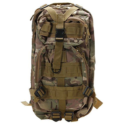 WINDGOAL Outdoor Neutral Adjustable Military Tactic Backpack Rucksacks Hiking Travel by WINDGOAL