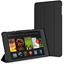 JETech Case for Amazon Fire HD 8 Tablet (7th / 6th Generation, 2017 and 2016 Release) Smart Cover with Auto Sleep/Wake(Black)
