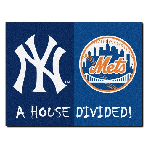 FANMATS MLB House Divided Nylon Face House Divided Rug