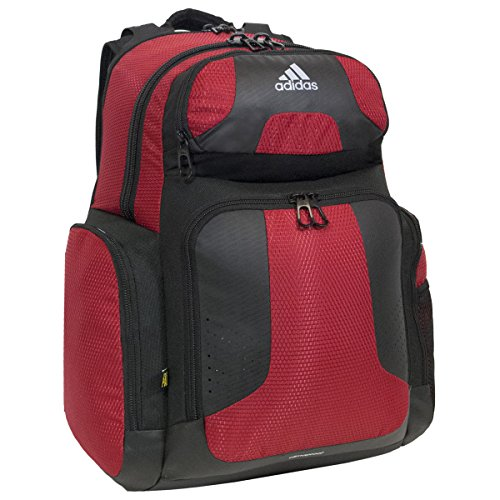 (adidas Climacool Strength Backpack, University Red/Black, One Size)