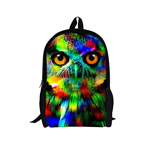 TOREEP Galaxy Print Casual School Backpack Outdoor Travel Bag(Big)