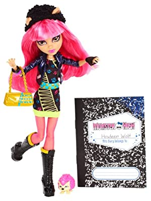 Monster High 13 Wishes Howleen Wolf