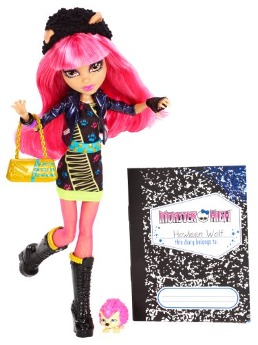 Monster High 13 Wishes Howleen (Monster High Howleen Wolf)