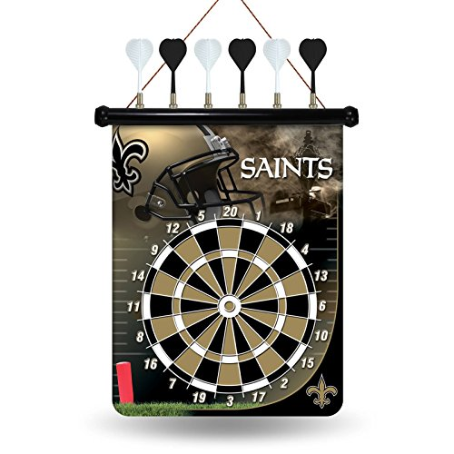 NFL New Orleans Saints Magnetic Dart Board by Rico