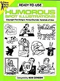 Ready-to-Use Humorous Spot Illustrations, Bob Censoni, 0486246442