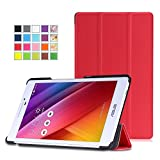 ASUS Zenpad 7.0 Z370C Case - MoKo Ultra Slim Lightweight Smart-shell Stand Cover Case With Auto Wake / Sleep for ASUS Zenpad Z370C 7.0 inch Tablet, RED