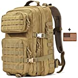 Military Tactical Backpack Large 3 Day Assault Pack Army Molle Bug Out Bag Backpacks Hunting Rucksac