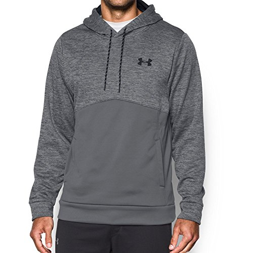 Under Armour Men's Storm Armour Fleece Twist Hoodie, Graphite/Black, X-Large