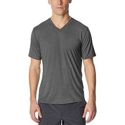 32 DEGREES Mens SS Basic T-Shirt, Grey, X-Large at Amazon Men's Clothing store