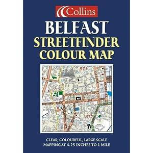Belfast Streetfinder Colour Map