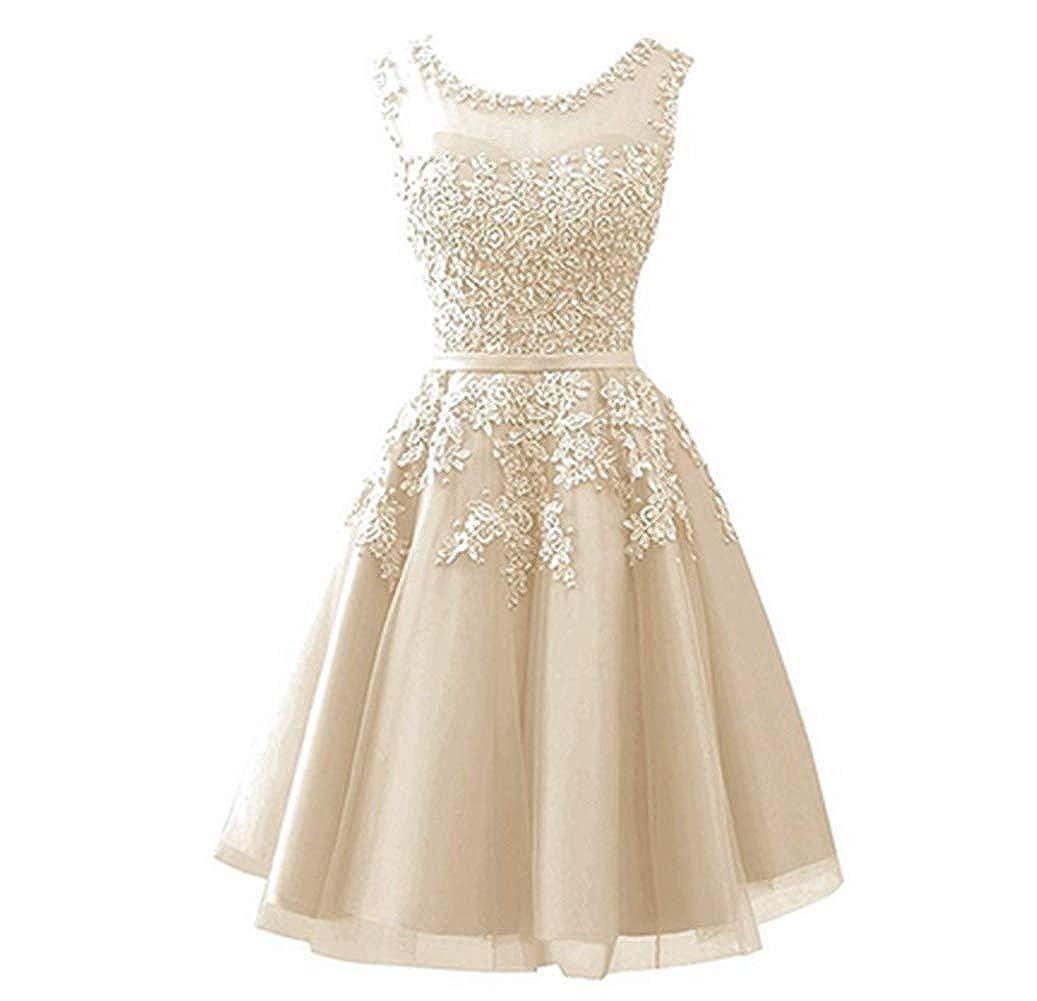 Champagne Aiyue Yishen Women's Aline Lace Applique Evening Dress Sheer Long Winter Gala Dress