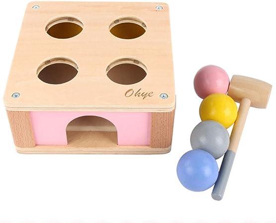 XuBa Mesa de Juegos Infantiles Educativos para Bebés Juego de Sonidos Mesa de Ping-Pong Juguetes de Madera: Amazon.es: Hogar
