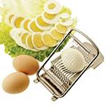 Paderno World Cuisine Egg Slicer, Aluminum