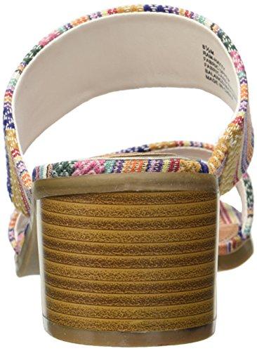 Rampage Women's Ram-Hatty Heeled Sandal Summer Stripe frIds24hR1