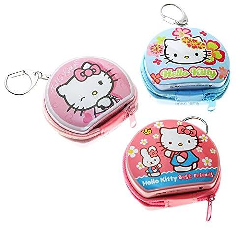 Hello Kitty Mini Zips Totes: 3 Zip Totes (The Tin Box Company Small)