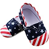 Baby Toddler Soft Sole First Walkers Striped Slip On Shoe-Assorted Styles
