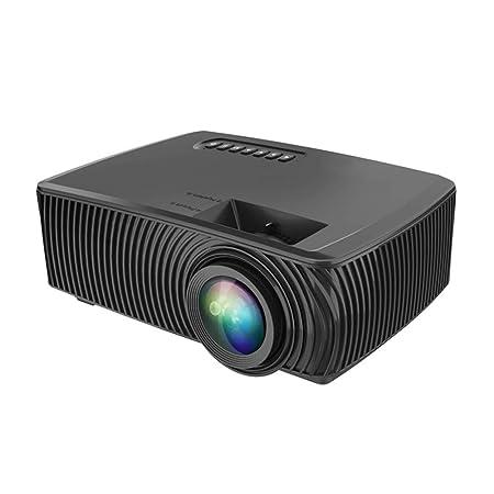 QLPP Mini proyector proyector portátil Enlace Espejo Apoyo, 1080p ...