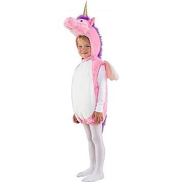Amakando Traje Unicorn Niña | Disfraz Infantil Unicornio ...