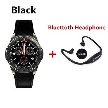 HHJEKLL Pulsera Inteligente Smartwatch Agregar Auriculares ...