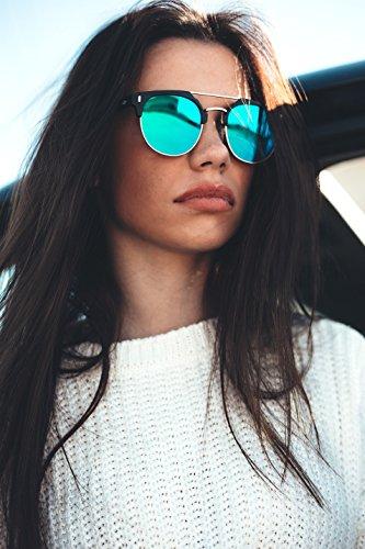 de TWIG espejo degradadas Gafas sol Marron Ebano DURER Degradado hombre mujer qdHAApwSWx