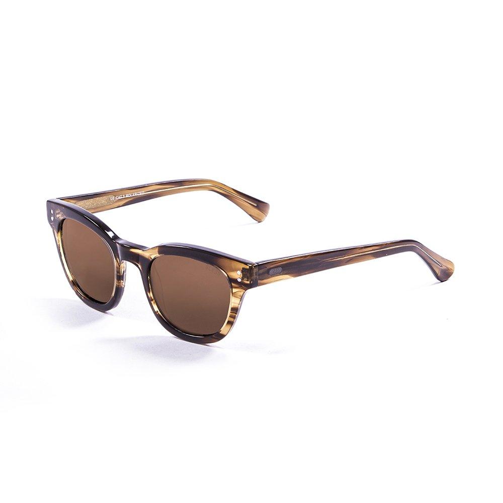 Ocean Sunglasses Santa Cruz-Gafas de Sol Lentes Brown ...