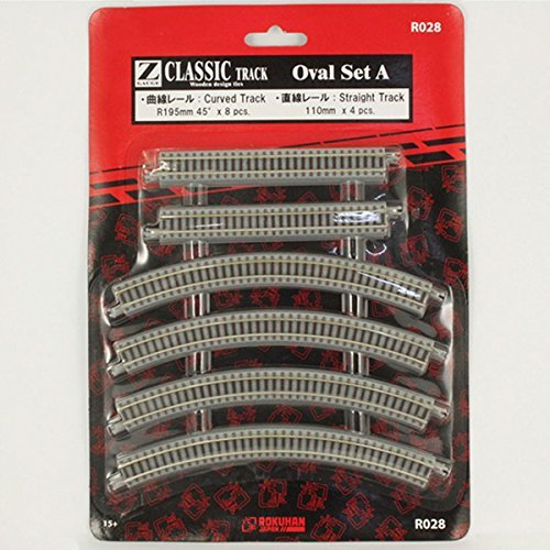 Rokuhan Z Scale R028 Oval Track Set z scale track