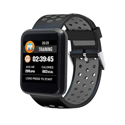 Amazon.com: YWYU Smart Watch LEMFO Sport 3 Smart Watch Blood ...