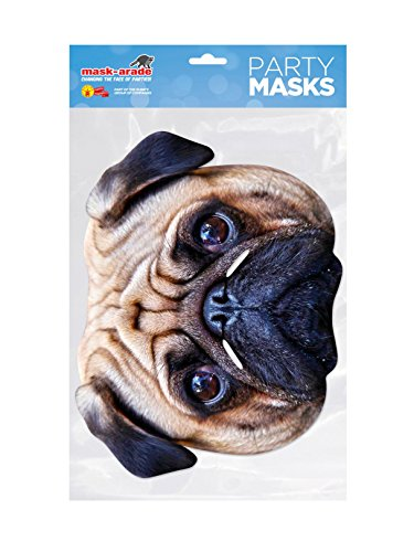 Rubie's Pug Facemask (One Size) ()