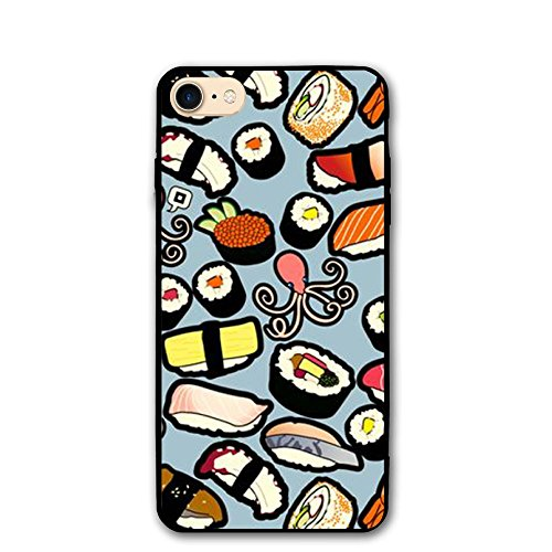 (GHGJHK Sweet Shrimp Sushi Shell Hard Full Protective Anti-Scratch Resistant Cover Case For Apple IPhone 8/8S)