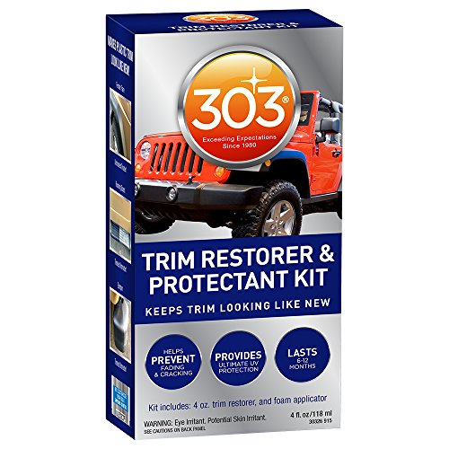 303 (30326) Automotive Trim Restorer and Protectant Kit, 4 fl. oz. - Luster Detailer