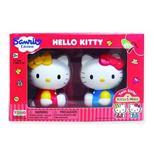 Pazapa BJ290097 - Poupée et Mini Poupée - Hello Kitty - Mimy et Kitty - 2 Figurines Geantes
