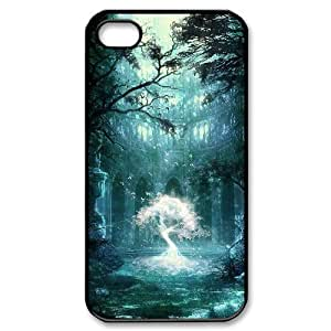 Master classics Diy Customized hard Case Fantasy Fairy Tale For Iphone 4/4s [Pattern-1]