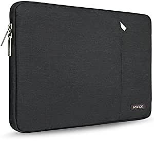 HSEOK 13-13.3 Inch Laptop Sleeve Case, Environmental-Friendly Spill-Resistant Sleeve for 13-Inch MacBook Air 2012-2017, MacBook Pro Retina 2012-2015/Pro 2012 A1278 and Most 14-Inch Laptop, Black
