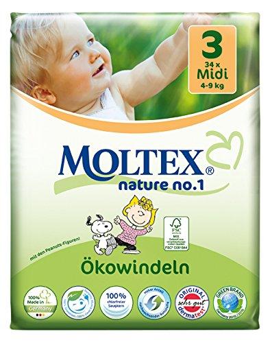 moltex Nature - No.1 ökowindel Newborn, 23 unidades): Amazon.es: Salud y cuidado personal