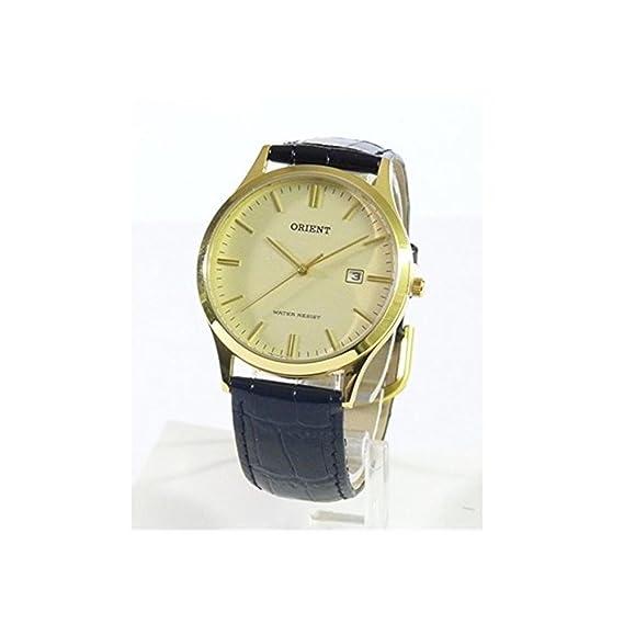 Orient Reloj Analógico para Hombre de Automático con Correa en Cuero FUNA1001C0