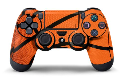 PS4 Controller Designer Skin for Sony PlayStation 4 DualShock Wireless Controller Hoops