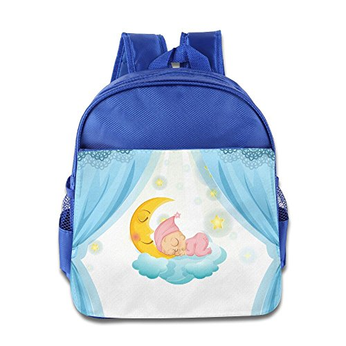 HYF Kids Moon Love Baby Toddler Backpack Preschool Lunch Boxes Carry ()