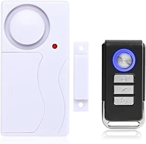 Mengshen Wireless Door Window Security Alarm with Remote Control - 1 Alarm 1 Remote Control M64