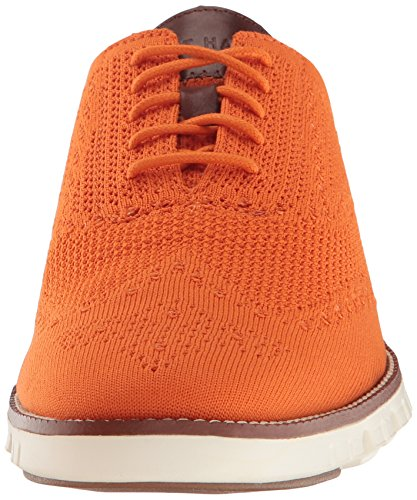 Cole Haan Hommes Zerogrand Stitchlite Wingtip Oxford Brûlé Orange / Ivoire