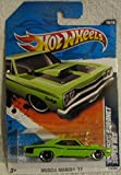 Hot Wheels 2011-110 Muscle Mania '11 '69 Dodge Coronet Super Bee 1:64 Scale LIME GREEN