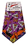 """BANDANAS UNLIMITED Tie on Triangle Halloween Bandanas for Large Dogs (3 Pack), Fits necks up to 24in"""""""