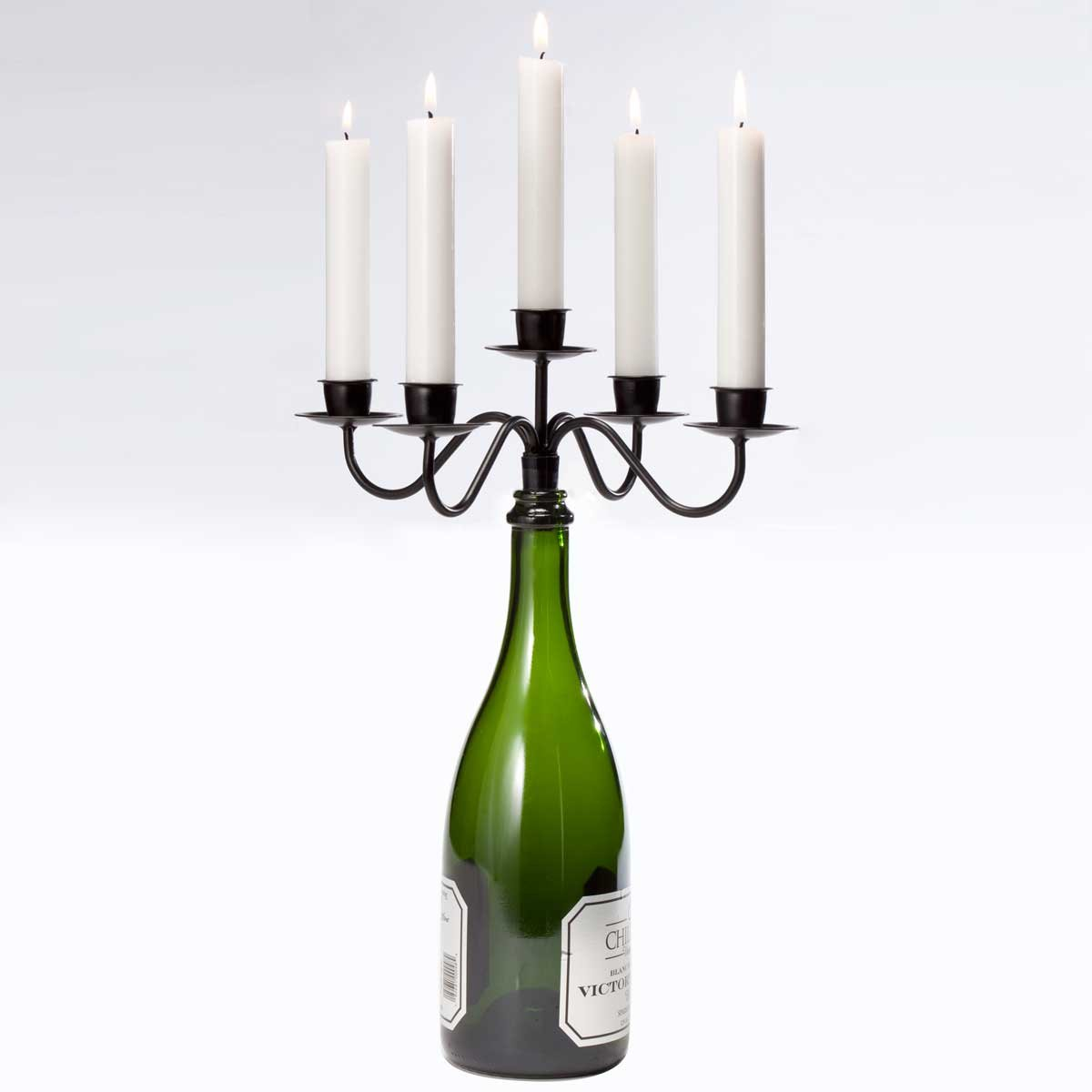 Holds 5 Tapers or Cork Candles