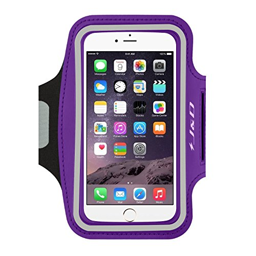 J&D Armband Compatible for iPhone 6 Plus/iPhone 6S Plus/iPhone 7 Plus/iPhone 8 Plus/iPhone XS Max Armband, Sports Armband w/Key holder Slot&Earphone Connection for Apple iPhone 6 Plus Running Armband