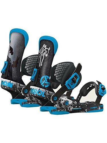 Union Asymbol X Snowboard Binding 2015 BLACK-BLUE M/L