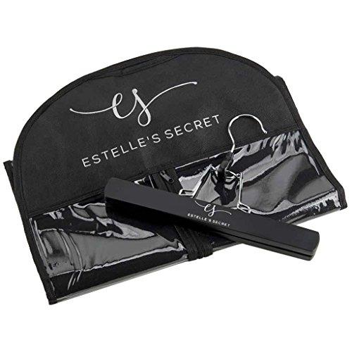 Hair Extension Storage & Travel Kit - Hanger & Bag - Estelle's Secret by Estelle's Secret (Image #4)