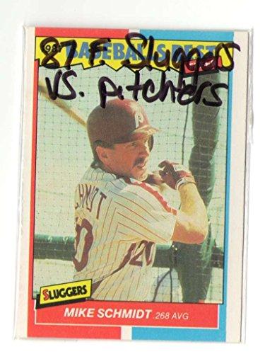 - 1987 Fleer Sluggers vs Pitchers PHILADELPHIA PHILLIES Team Set