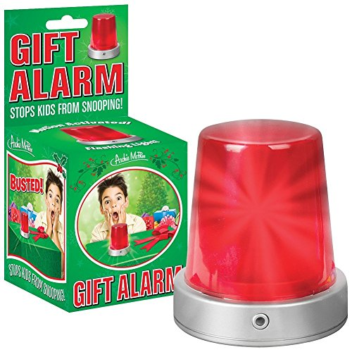 Motion Activated Alarm Lights Siren