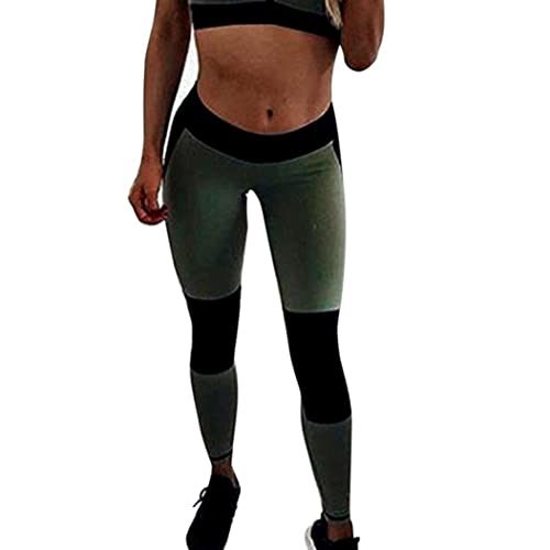 2f8ca5fdc2 Goodtrade8® Women's Juniors Yoga Pants Patchwork Workout Leggings Sport  Running Athletic Stretch Leggings High Waist